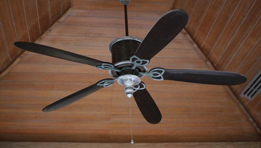 Ceiling fan instalation