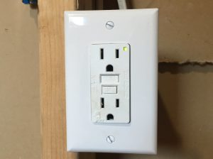 GFCI Outlet Indoors